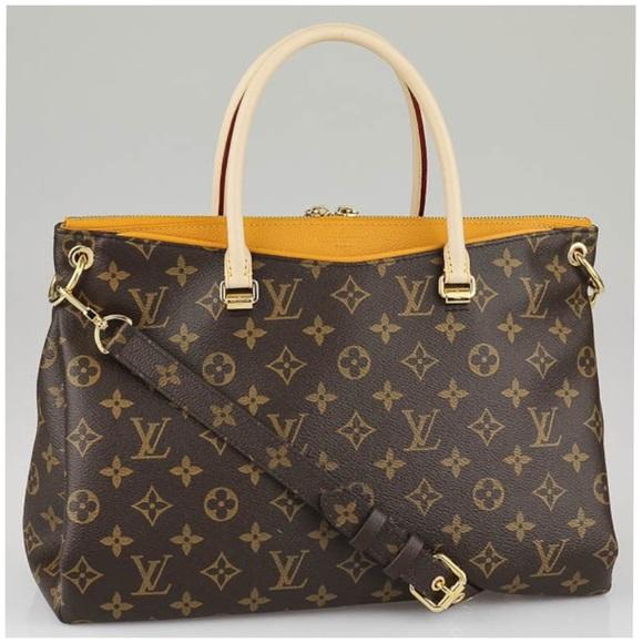 Louis Vuitton Handbags - 💯😍LOUIS VUITTON Saffron Monogram Canvas Pallas c6dbf7cfe4704